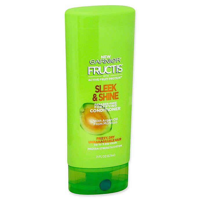 Alternate image 1 for Garnier® Fructis® Sleek & Shine 21 fl. oz. Fortifying Conditioner