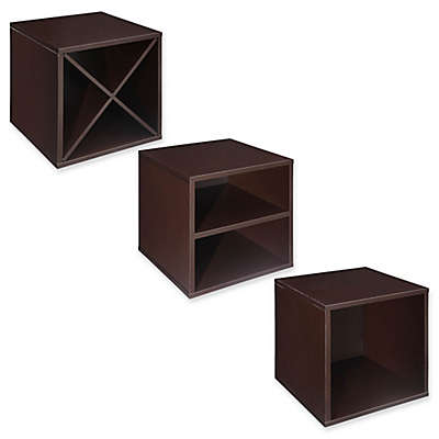 Craft + Main Storage Cube Solution Collection in Espresso