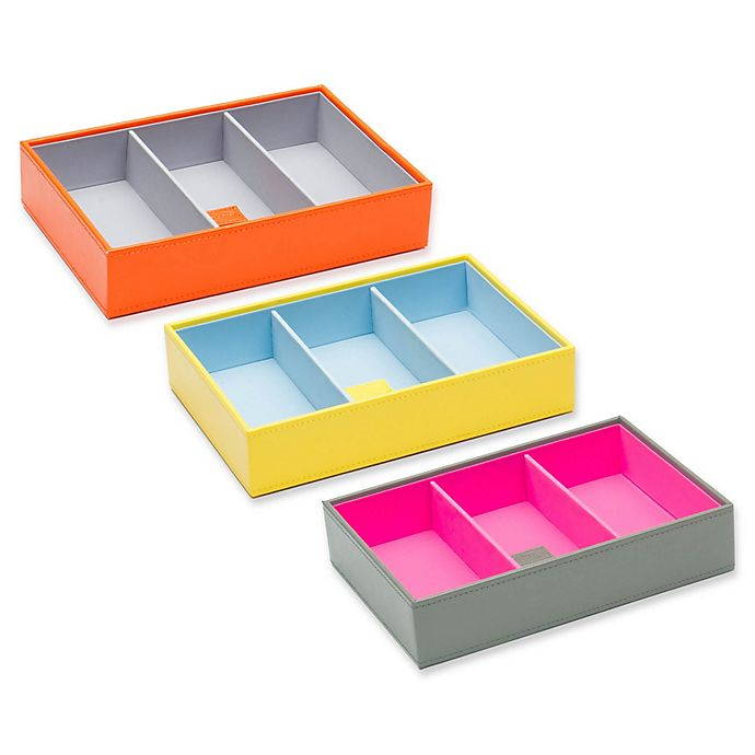 Alternate image 1 for Wolf Designs Medium Deep Stackable Tray