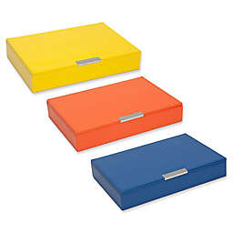 Wolf Designs Medium Stackable Tray with Lid