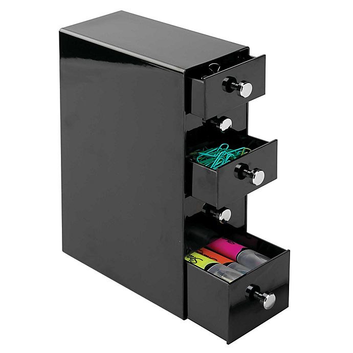 Alternate image 1 for iDesign® 5-Drawer Desk Storage Tower