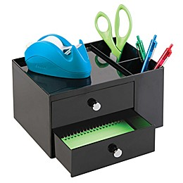 iDesign® 2-Drawer Desk Storage Box & Pencil Cup Organizer