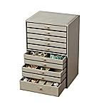 Quin Deluxe Jewelry Case in Grey