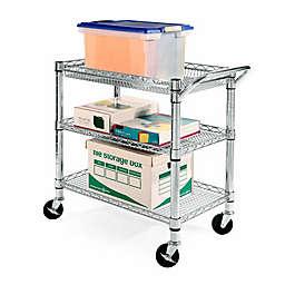 Seville Classics 3-Shelf Heavy Duty Commercial Utility Cart