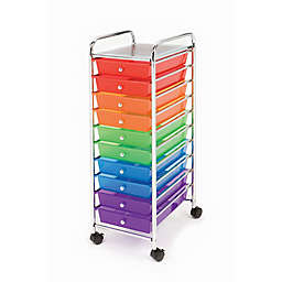Seville Classics 10-Drawer Wide Organizer