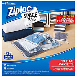 Ziploc® Space Bag® 10-Count Variety Pack in Clear