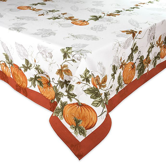 Alternate image 1 for Bardwil Linens Cedar Grove Tablecloth