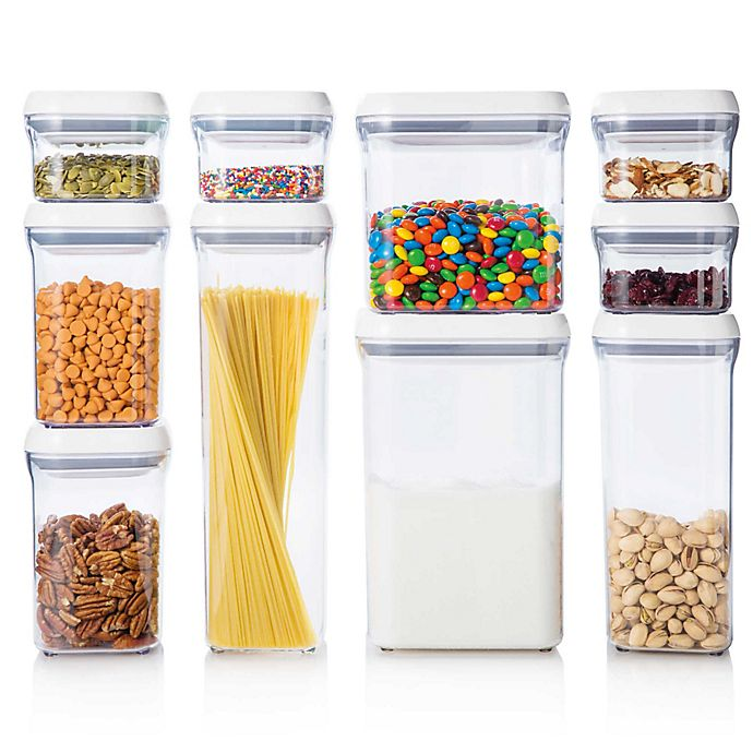 Alternate image 1 for OXO Good Grips® 10-Piece Food Storage POP Container Set