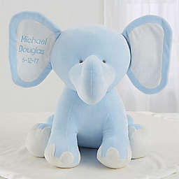 Blue Plush Elephant