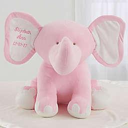 Pink Plush Elephant