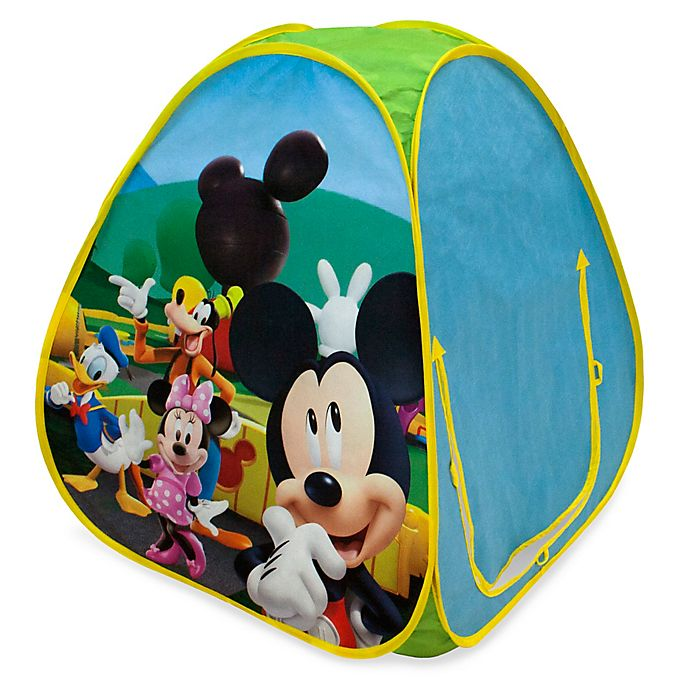 Alternate image 1 for Playhut® Disney® Mickey Mouse Hideaway Pop-Up Tent