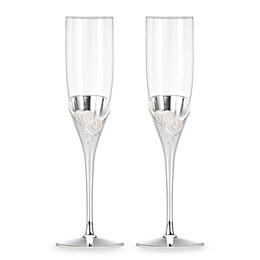 Lenox® True Love Toasting Flutes (Set of 2)