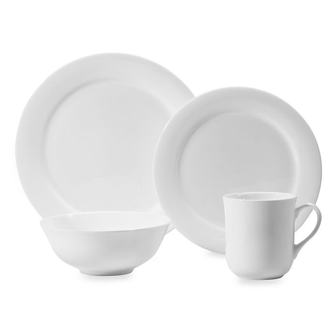 Alternate image 1 for Wedgwood® Gourmet 4-Piece Place Setting
