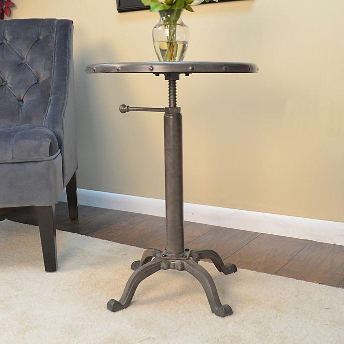 Alternate image 1 for Restoration Adjustable Accent Table in Bronze
