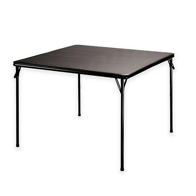 Astonishing Samsonite Xl Folding Game Table In Black Bed Bath Beyond Home Interior And Landscaping Elinuenasavecom