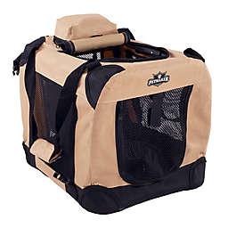 Petmaker 1-Door Portable Soft Sided Pet Crate