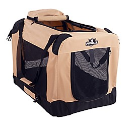 Petmaker 1-Door Portable Soft Sided Pet Crate
