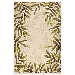 KAS Harbor Nature 7-Foot 6-Inch x 9-Foot 6-Inch Indoor/Outdoor Area Rug in Sand