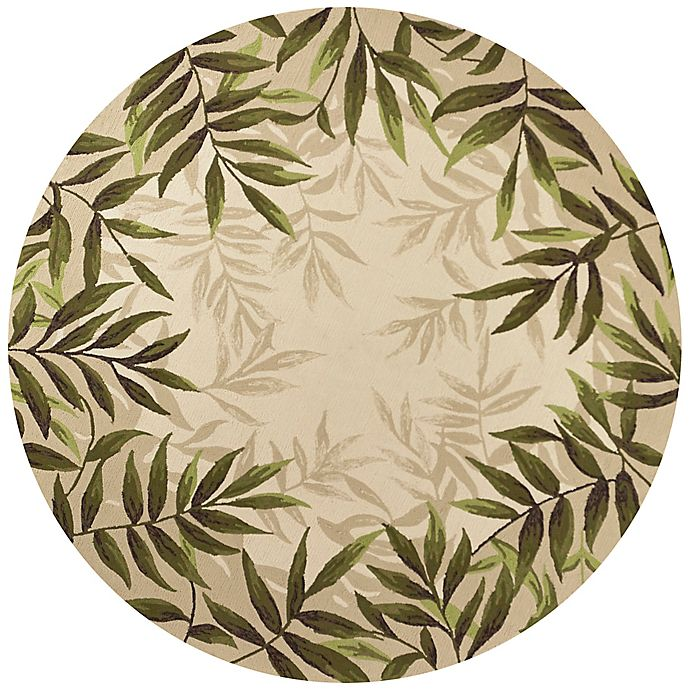 Alternate image 1 for KAS Harbor Nature 7-Foot 6-Inch Round Indoor/Outdoor Area Rug in Sand