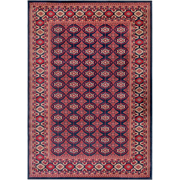 Alternate image 1 for Surya Poulton Classic Border 5-Foot x 7-Foot 6-Inch Area Rug in Red