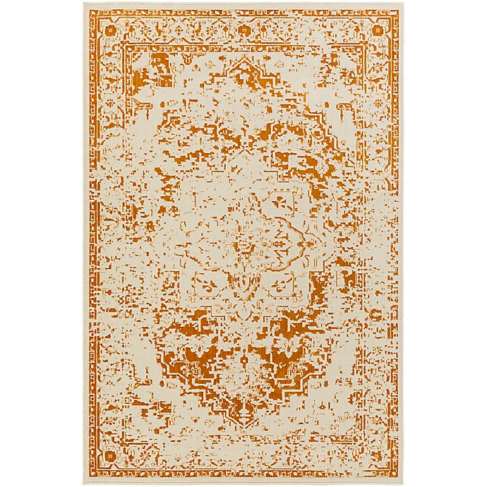 Alternate image 1 for Surya Everton Border 1-Foot 10-Inch x 2-Foot 11-Inch Accent Rug in Rust