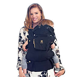 LÍLLÉbaby COMPLETE Original Baby Carrier in Black LUXE