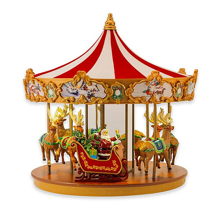Mr Christmas Very Merry Musical Carousel