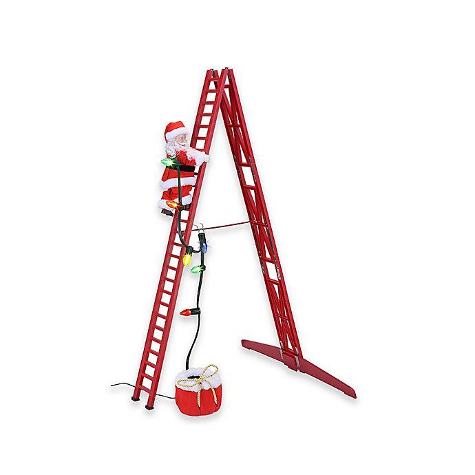Alternate image 1 for Mr. Christmas Stepping Santa