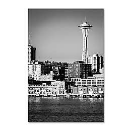 Seattle and Her Needle 22-Inch x 32-Inch Canvas Wall Art