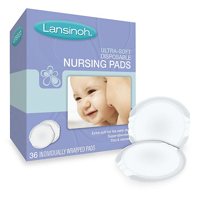 Alternate image 1 for Lansinoh® Ultra Soft 36-Pack Nursing Pads