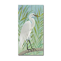 Katherine Lovell Egret by Shore I Canvas Wall Art