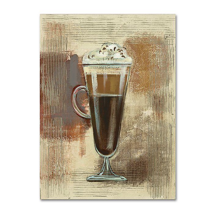 Silvia Vileva Café Clico I 24 Inch X 32 Canvas Wall Art