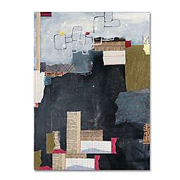 Courtney Prahl Block Abstract II v2 14-Inch x 19-Inch Canvas Wall Art