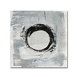 Melissa Averinos's Zen Circle I Crop Canvas Wall Art