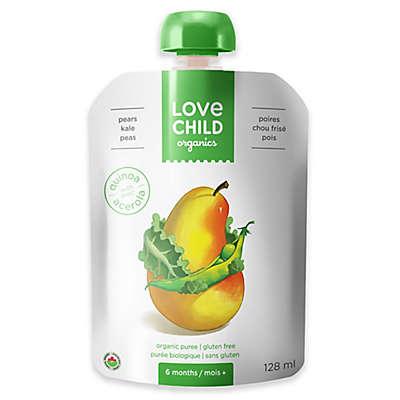 Love Child Organics 4.3 oz. Pears, Peas & Kale Baby Food Puree