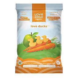 Love Child Organics Carrot & Apple Love Ducks Organic Corn Snacks