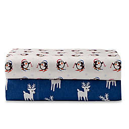 Seasons Flannel Pillowcases (Set of 2)