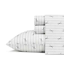 Eddie Bauer® Downstream Cotton Percale 200-Thread-Count Sheet Set