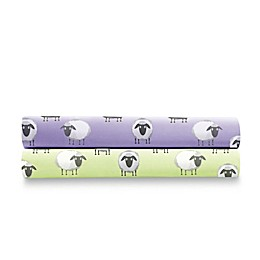 Micro Flannel® Sheep Print Sheet Set
