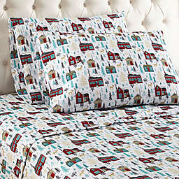 Micro Flannel® Cabin Print Sheet Set