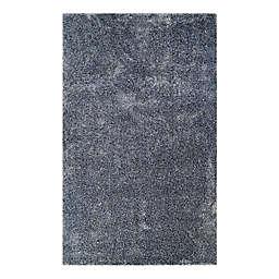 Couristan® Bromley Breckenridge 3'11 x 5'6 Accent Rug in Navy/Grey