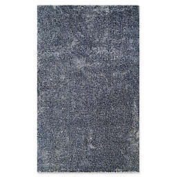 Couristan® Bromley Breckenridge 5'3 x 7'6 Area Rug in Navy/Grey