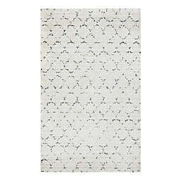 Couristan® Bromley Davos Shag Rug in Snow/Brown