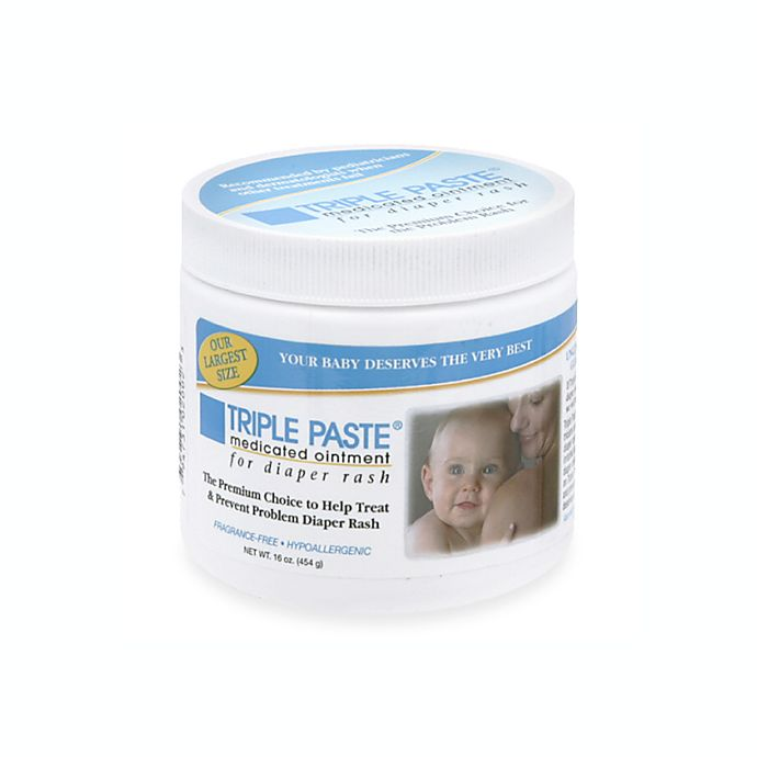 Alternate image 1 for Triple Paste® 16-Ounce Medicated Diaper Rash Ointment