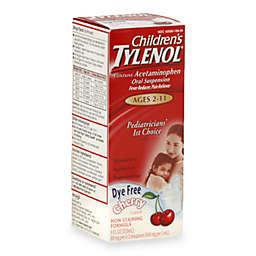 Tylenol® 4 fl.oz. Childrens Dye-Free Oral Suspension in Cherry