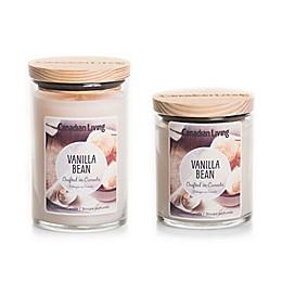Canadian Living Vanilla Bean Jar Candle