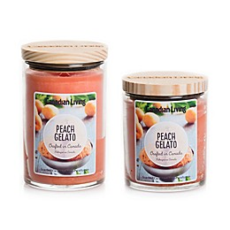 Canadian Living Peach Gelato Jar Candle