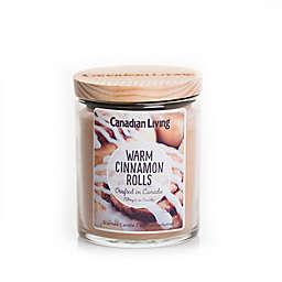 Canadian Living Warm Cinnamon Rolls 8 oz. Jar Candle