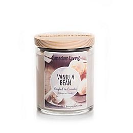 Canadian Living Vanilla Bean 8 oz. Jar Candle