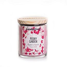Canadian Living Peony Garden 8 oz. Jar Candle